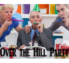 Over the Hill Party